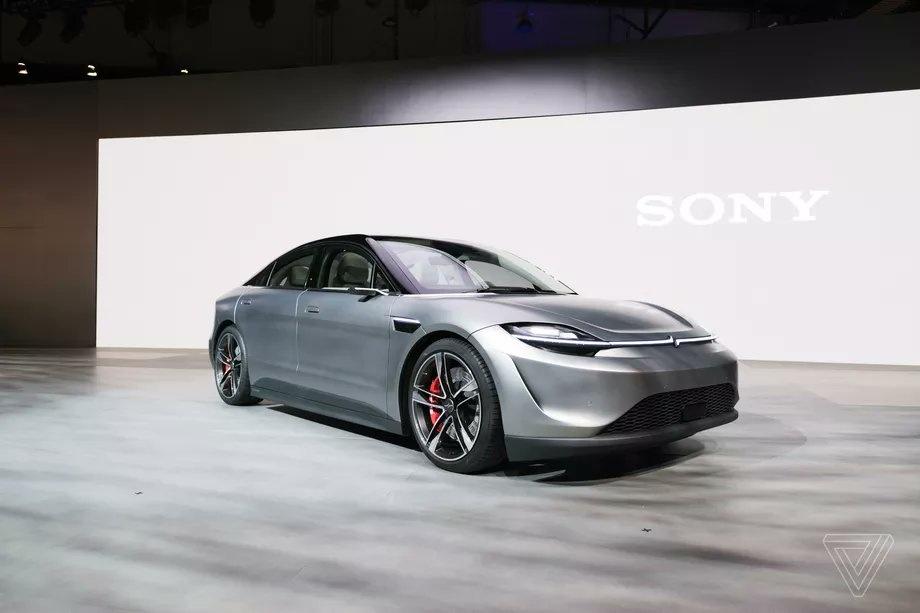 سوني - السيارات الكهربائية